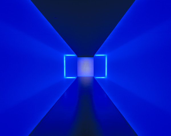 The Light Inside, 1999, neon and ambient light, the Museum of Fine Arts, Houston, Museum commission, gift of Isabel B. and Wallace S. Wilson. © James Turrell