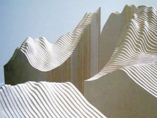 Maya Lin, Installation image from Systematic Landscapes.