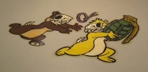 skull chipmunks
