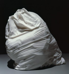 """Jud Nelson, """"Hefty 2-Ply,"""" 1979-81, marble"""