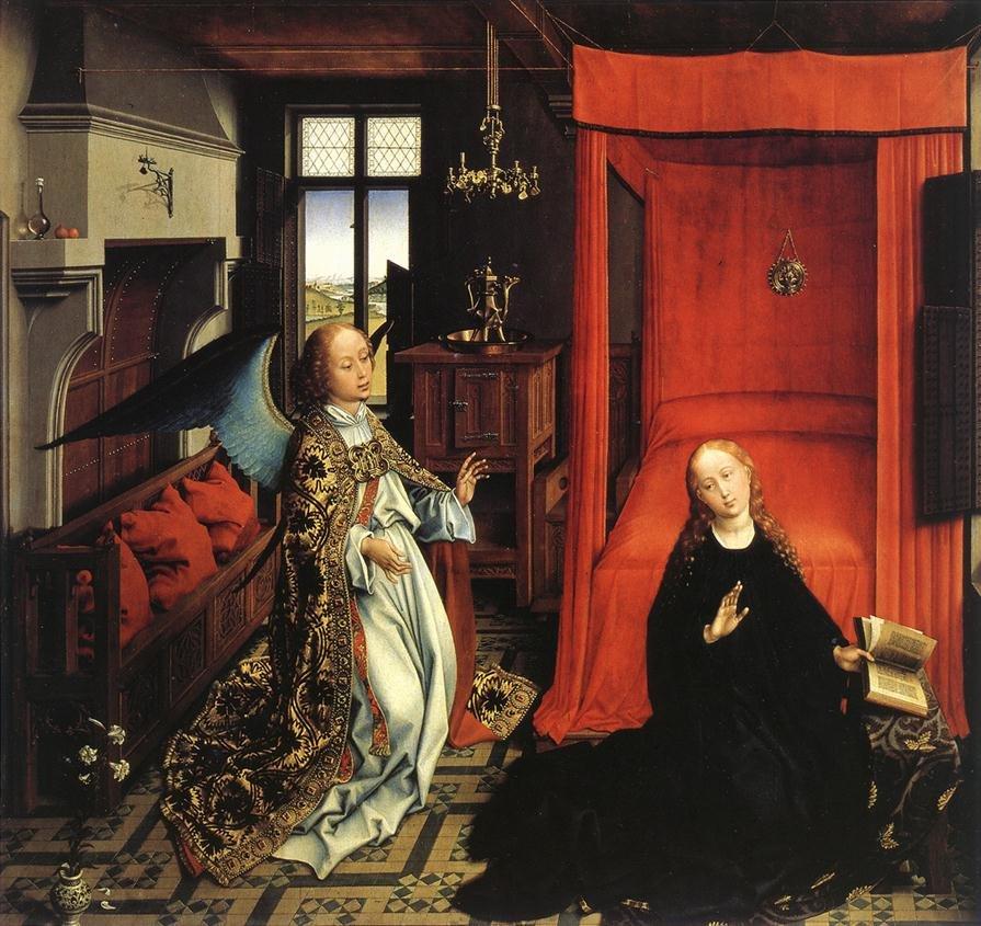 Annunciation (1435) by Roger van der Weyden
