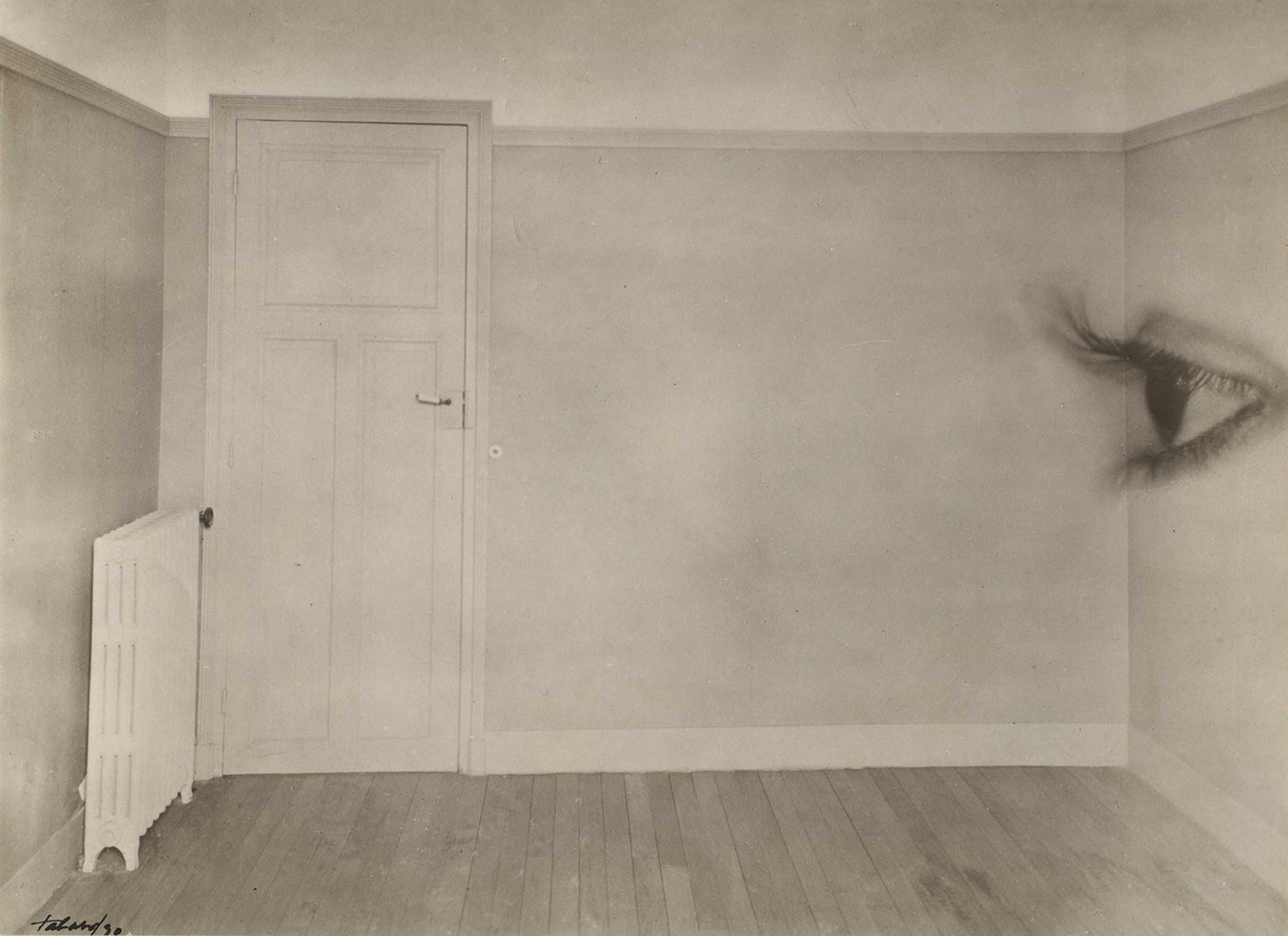 Maurice Tabard, Room with Eye, 1930, gelatin silver print, The Metropolitan Museum of Art, New York, The Elisha Whittelsey Collection, The Elisha Whittelsey Fund, 1962. Image © The Metropolitan Museum of Art