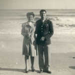 Cynthia and George Mitchell in Galveston. Photo credit: Cynthia and George Mitchell Foundation
