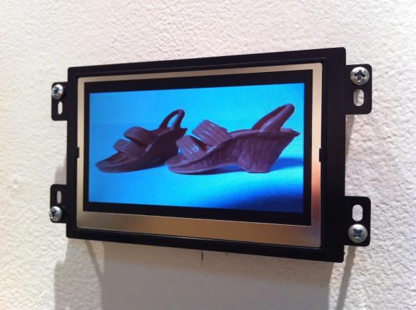 Brown Objects (Velvet Scraps), 2013