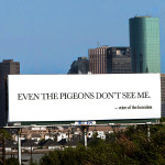 "Houston Art Billboard ""Speaks"" for the Homeless"