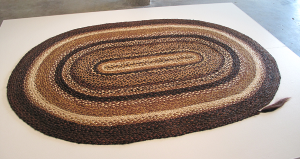Frances Bagley, Braided Rug