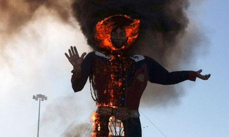 Photograph: Reuters
