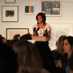 Houston Artist Robert Pruitt Adds Exclamation Point to Michelle Obama Speech