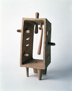 The Policeman, 1950 Seto stoneware 13 3/8 x 8 3/4 x 5 1/8 in. (34 x 22.2 x 13 cm) The Isamu Noguchi Foundation and Garden Museum, New York