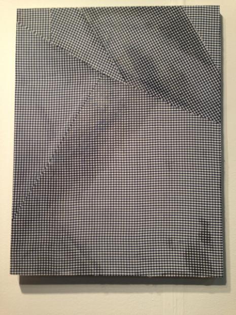 Cheryl Donegan at the David Shelton Gallery booth