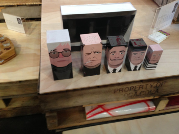 Famous artist nesting boxes at BAD.
