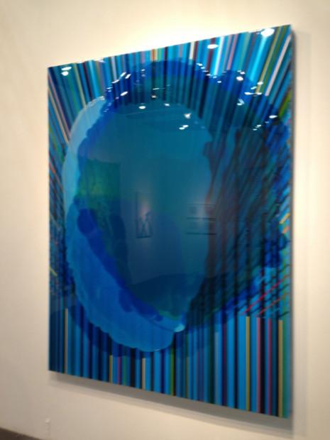 Gavin Perry's Khanate at the Barbara Davis Gallery booth.