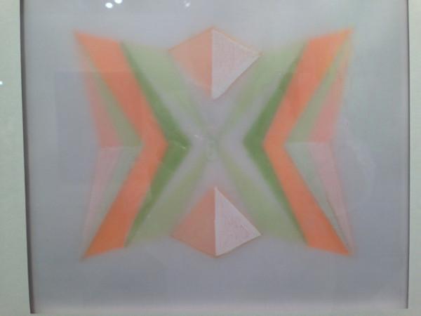 Jay Shin at the Barbara Davis Gallery booth