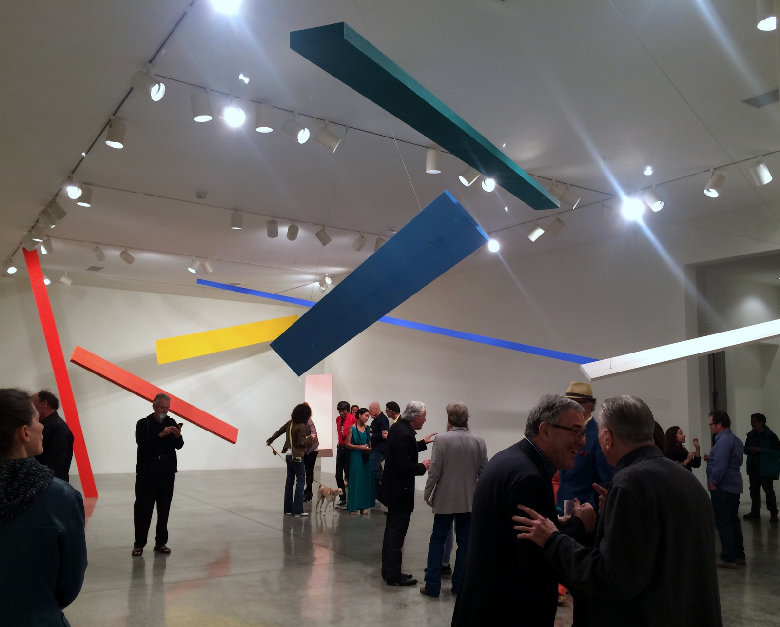 Joel Shapiro, installation at L.A. Louver, 2013