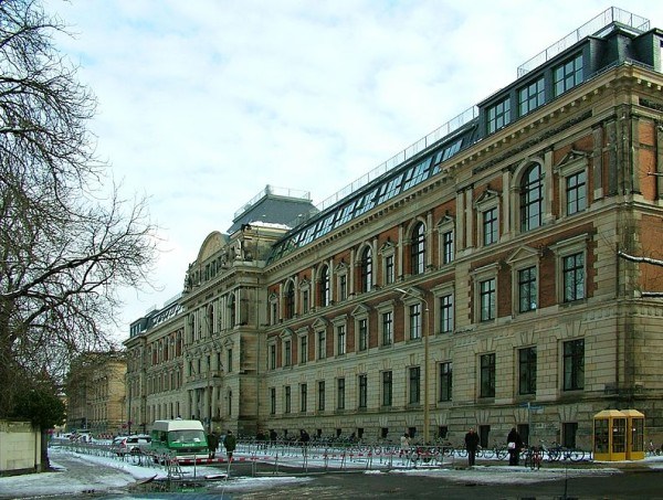 Leipzig Academy of Visual Arts.  Photo by Leander Seige, 2006, GNU FDL