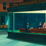 Edward Hopper. Nighthawks, 1942. Friends of American Art Collection.
