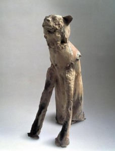 Fausto Melotti, Cat Dog (Gatto cane), 1948.  Courtesy Nasher Sculpture Center