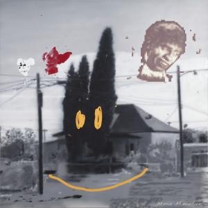 Vernon Fisher, Mona Monalisa, 2012. Acrylic on canvas, 61 x 61 inches