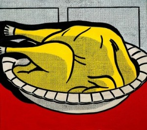 Roy Lichtenstein, Turkey, 1961. Estate of Roy Lichtenstein