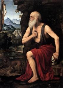 Bernardino Luini, The Penitent St Jerome, 1520-25, Museo Poldi Pezzoli, Milan