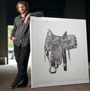 2013 Hunting Art Prize recipient Marshall Harris. Photo by Ralph Lauer.