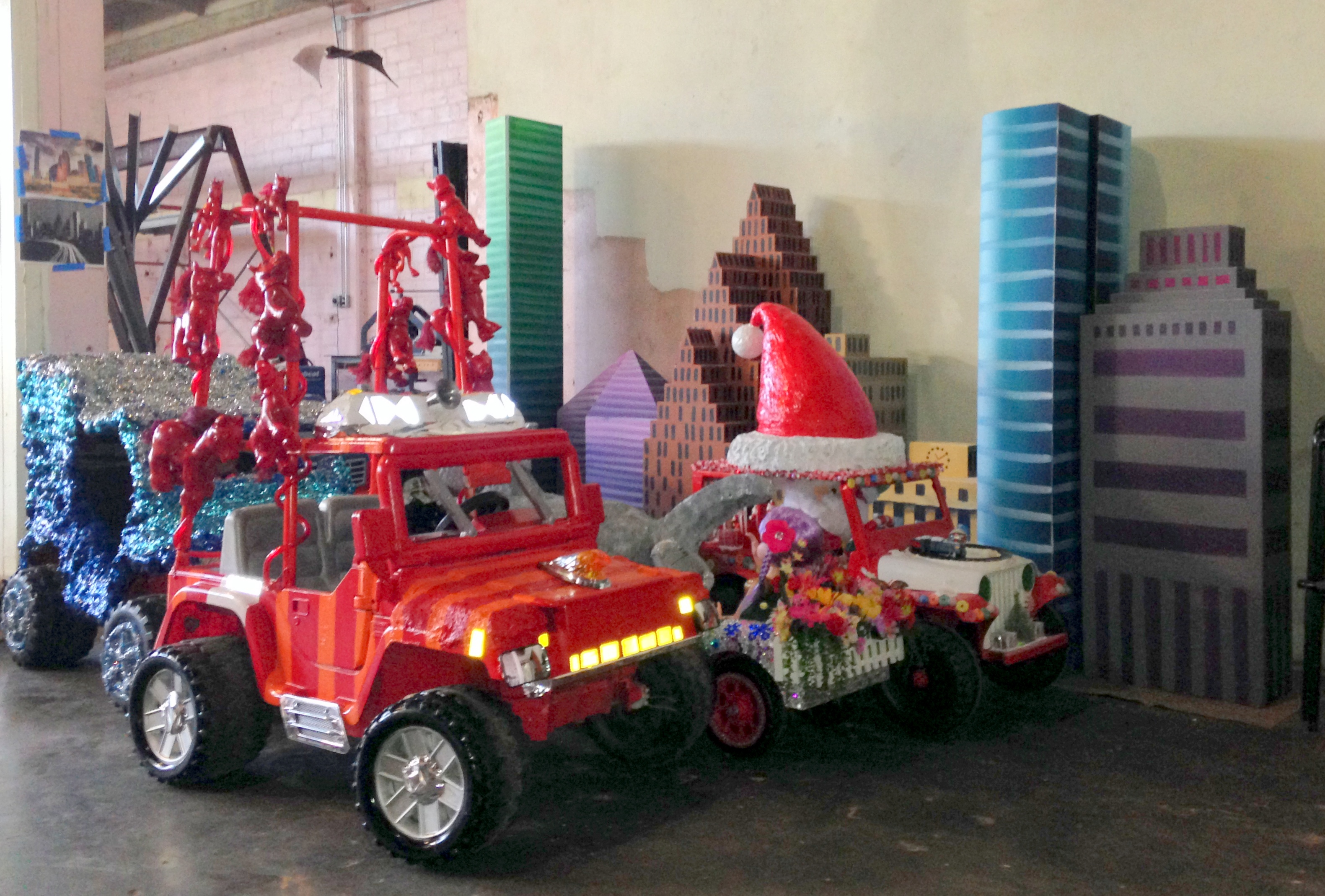 Mini Art Cars Ready for the Parade