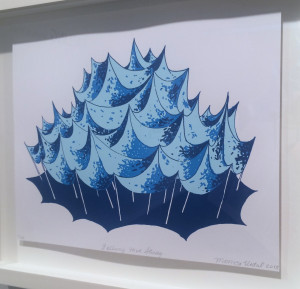 Monica Vidal, Falling Hive Study, 2013