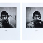 William Wegman, Mistake/Correction, 1975/2011, two silver gelatin prints, courtesy Texas Gallery