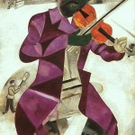 He's up there day and night for about four months in El Paso. Marc Chagall, Green Violinist, 1923-24. Solomon R. Guggenheim Museum, New York.