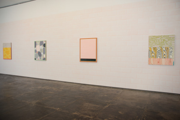 Melissa Thorne, A Wall Around a Window (installation view), 2013, courtesy Devin Borden Gallery