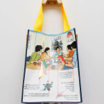 """Baggage: """"Shoppers"""" for a Conversational Feast at RE Gallery"""