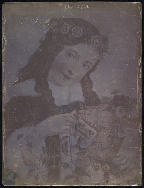 Levi L. Hill (1816-1865) Untitled, ca. 1851 Hillotype (inkjet facsimile, 2013)