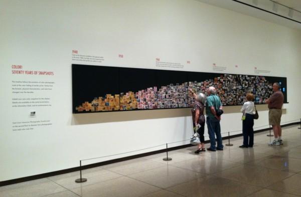 visitors' photo timeline
