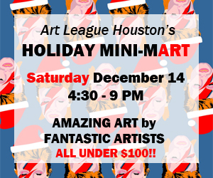 Art League Houston Holiday Mini-Mart 2014