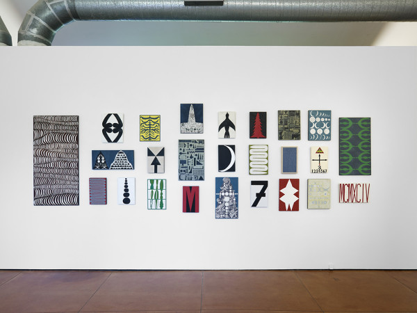 Matt Magee, Circa 1994 installation view, courtesy Hiram Butler Gallery