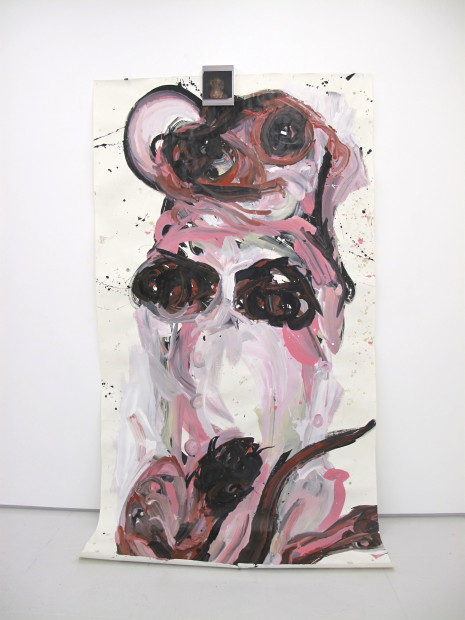 Raychael Stine, Big Pink Pickle, 2012