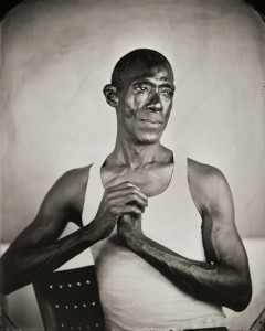 Keliy Anderson-Staley, Kevin, 2010, from the series On a Wet Bough: Contemporary Tintype Portraits, wet plate collodion tintype. Courtesy of the artist and Catherine Edelman Gallery, Chicago