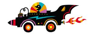 2013 Houston Art Car Parade artwork by non-Houstonian Hugh D'Andrade