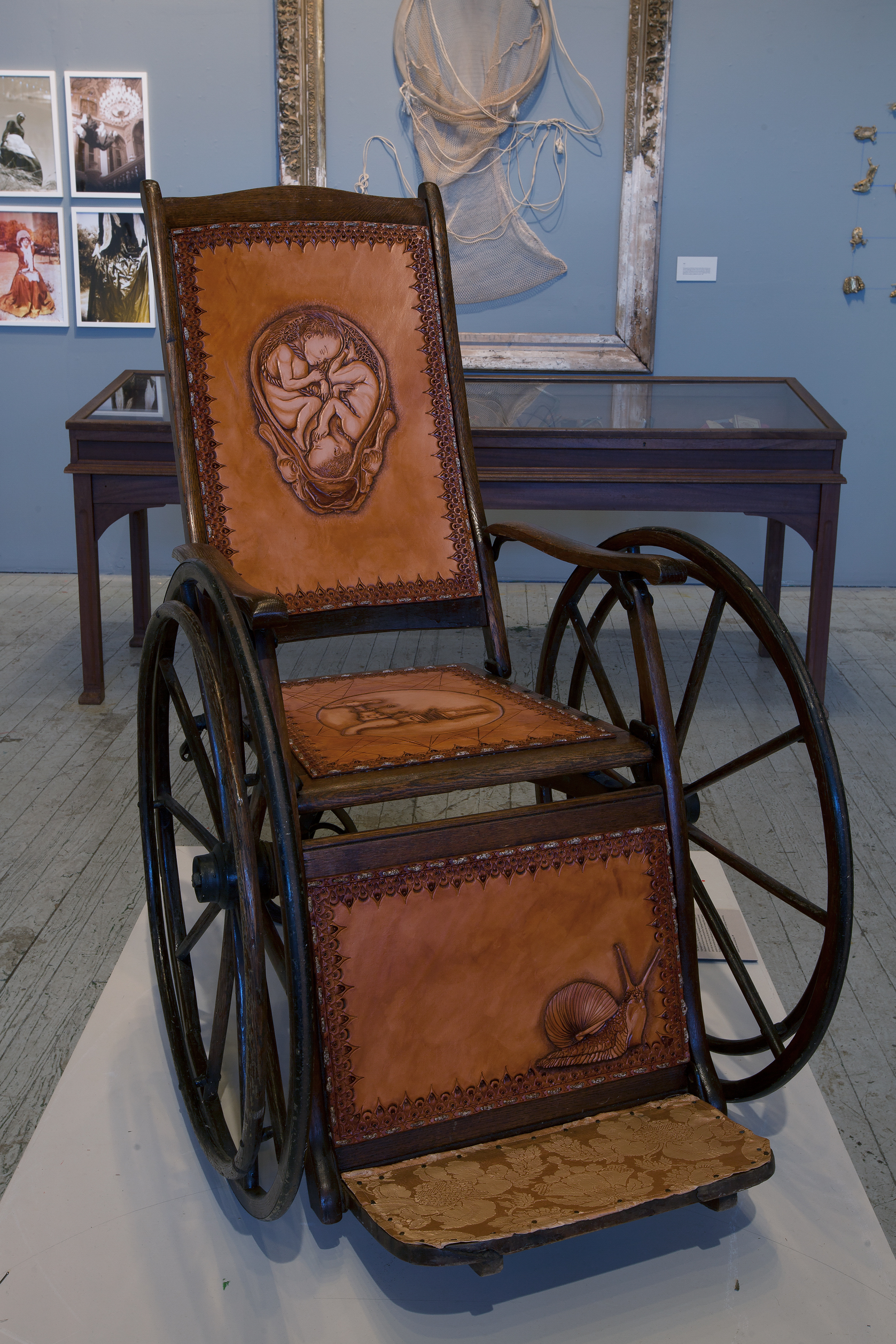 artifacts from the adventures of florence nightingale collected by florence s wheelchair