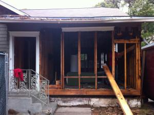 Future home of the Bistro Menil