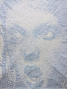 Laura Lark, Top Depart! (Powder), 2004, included in AMSET's Mirrored and Obscured