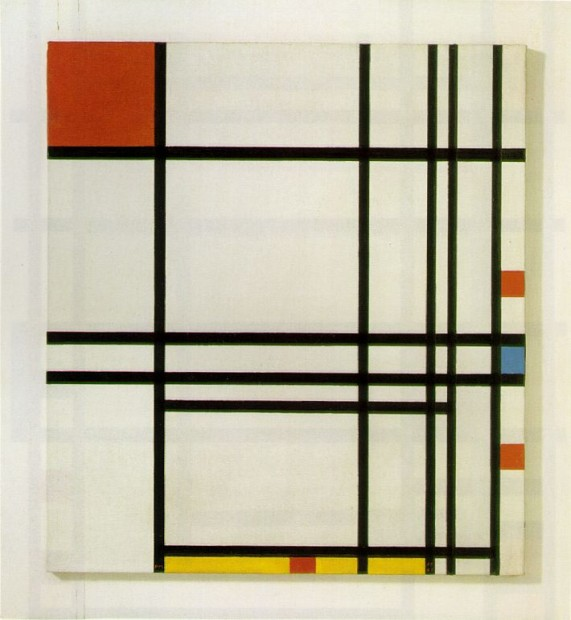 Piet Mondrian, Composition Number 8
