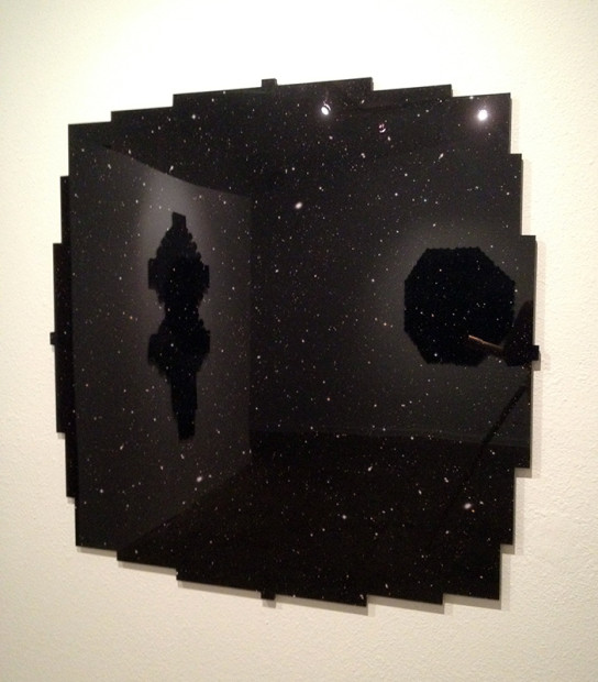 """From Sauter's """"Shape of the Universe"""" at Fl!ght Gallery"""