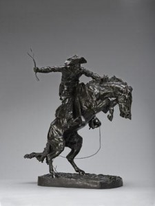 Frederic Remington, The Broncho Buster. Modeled 1895, cast by 1902. Denver Art Museum; The Roath Collection.