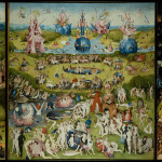 Hieronymus Bosch, The Garden of Earthly Delights, Museo del Prado, Madrid, Spain.