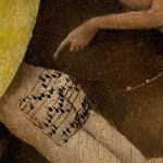 Blogger Transcribes Sheet Music from Tiny Butt in Hieronymus Bosch Painting