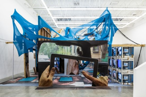 Jon Kessler, The Web, 2013, Swiss Institute