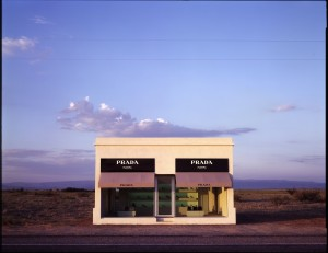 "James Evans, ""Prada Marfa,"" 2005, Digital photograph, 40 x 50 inches"