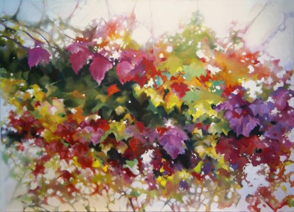 "Alison Jardine, ""Abundance, Noon,"" oil on canvas."
