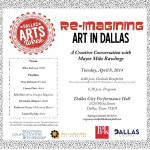 Dallas' Mayor Mike Rawlings to Host Panel About Arts in Dallas
